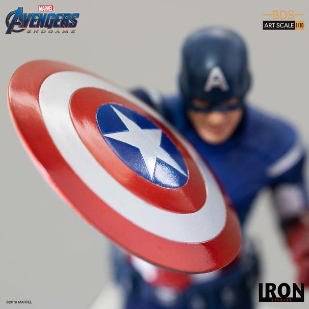 Statuette Avengers Endgame BDS Art Scale Captain America 21cm 1001 Figurines (8)