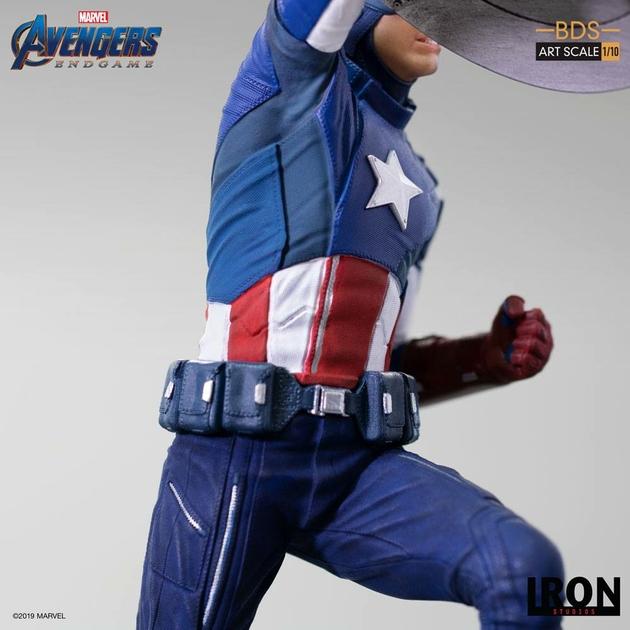 Statuette Avengers Endgame BDS Art Scale Captain America 21cm 1001 Figurines (10)