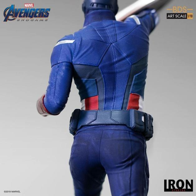 Statuette Avengers Endgame BDS Art Scale Captain America 21cm 1001 Figurines (11)