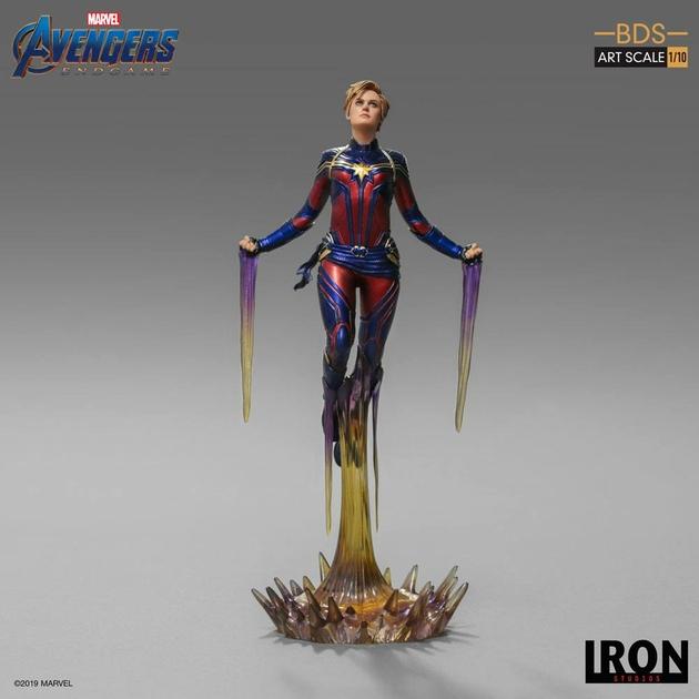 Statuette Avengers Endgame BDS Art Scale Captain Marvel 26cm 1001 Figurines (2)