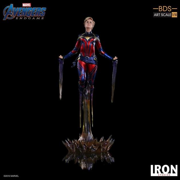 Statuette Avengers Endgame BDS Art Scale Captain Marvel 26cm 1001 Figurines (12)