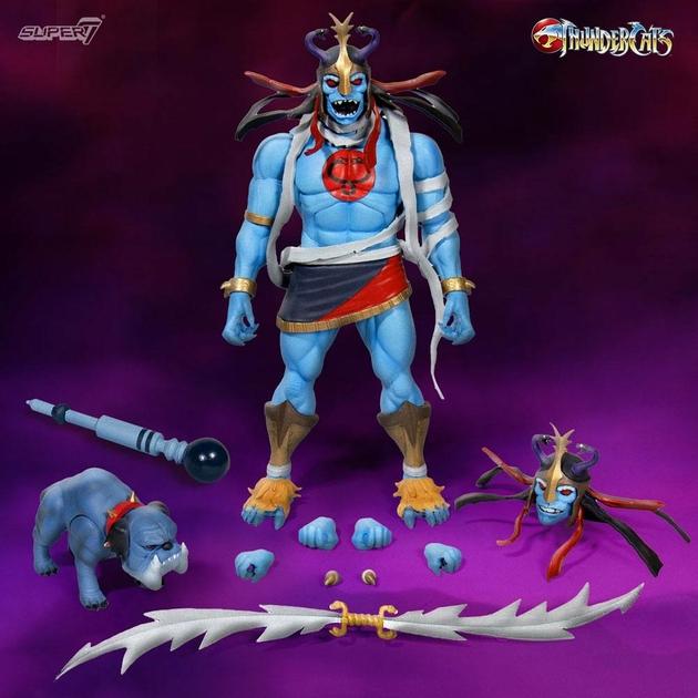 Pack 2 figurines Thundercats Wave 2 Ultimates Mumm-Ra & Ma-Mutt 5-18cm 1001 figurines