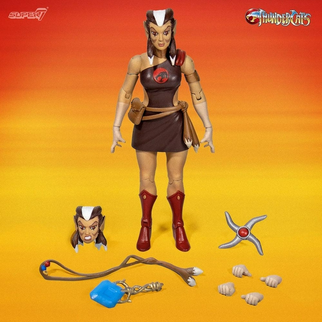 Figurine Thundercats Wave 2 Ultimates Pumrya The Healer 18cm 1001 figurines