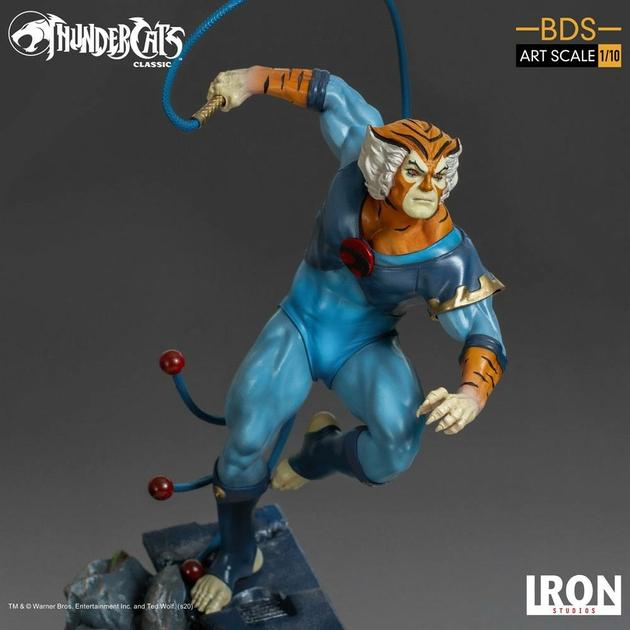 Statuette Cosmocats BDS Art Scale Tygra 30cm 1001 Figurines (7)