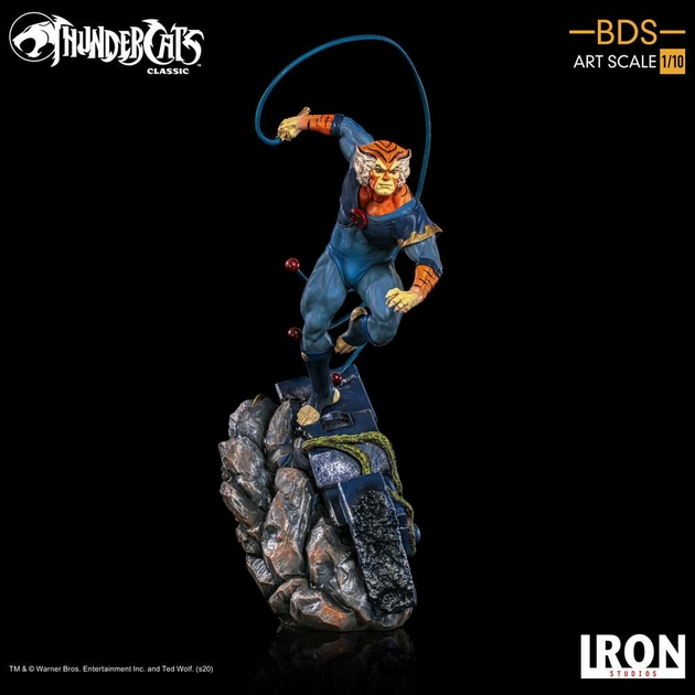 Statuette Cosmocats BDS Art Scale Tygra 30cm 1001 Figurines (12)