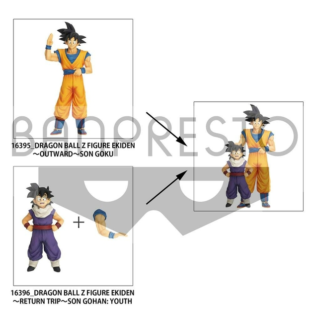Statuette Dragon Ball Z Zokei Ekiden Return Trip Son Gohan Youth 15cm 1001 figurines (4)