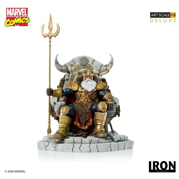 Statuette Marvel Comics BDS Art Scale Odin 31cm 1001 Figurines (1)