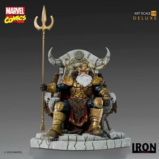 Statuette Marvel Comics BDS Art Scale Odin 31cm 1001 Figurines (2)