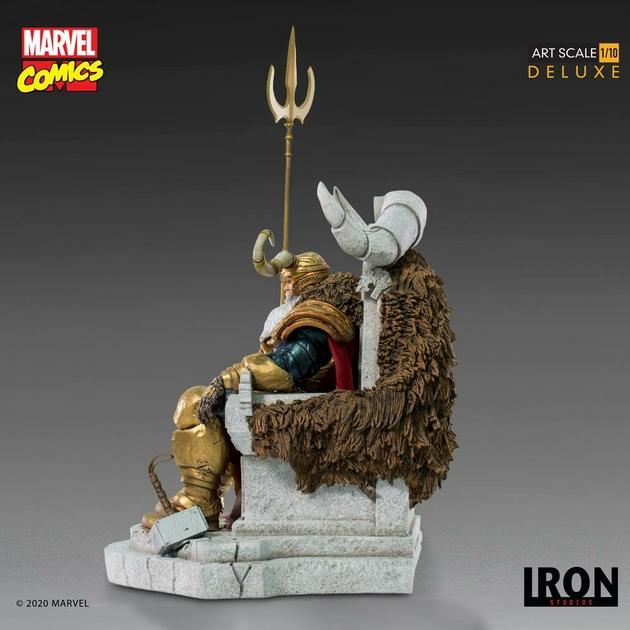 Statuette Marvel Comics BDS Art Scale Odin 31cm 1001 Figurines (3)