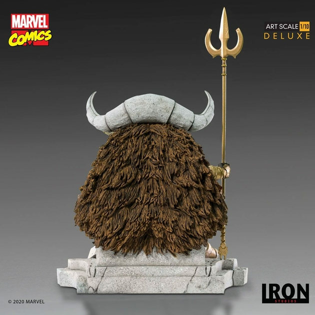 Statuette Marvel Comics BDS Art Scale Odin 31cm 1001 Figurines (4)