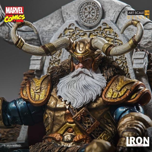 Statuette Marvel Comics BDS Art Scale Odin 31cm 1001 Figurines (9)