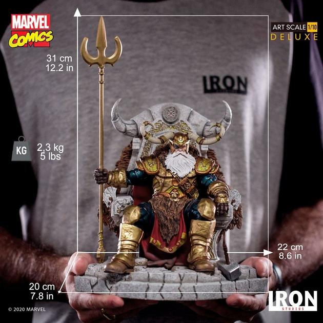 Statuette Marvel Comics BDS Art Scale Odin 31cm 1001 Figurines (16)
