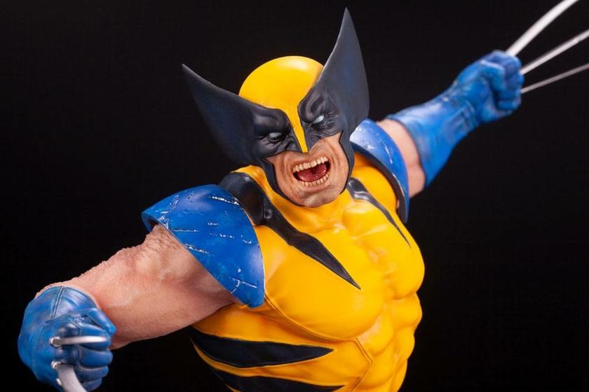Statuette Marvel Comics Fine Art Wolverine 40cm 1001 figurines 1 (16)