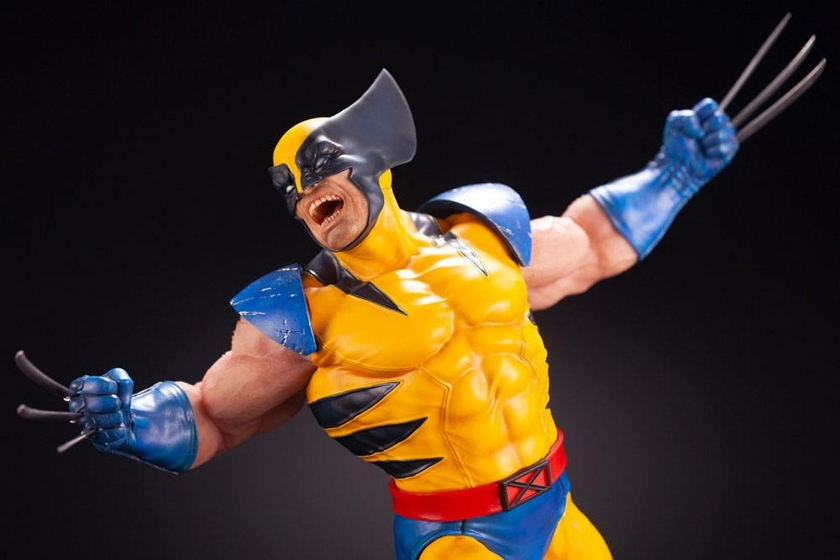 Statuette Marvel Comics Fine Art Wolverine 40cm 1001 figurines 1 (18)