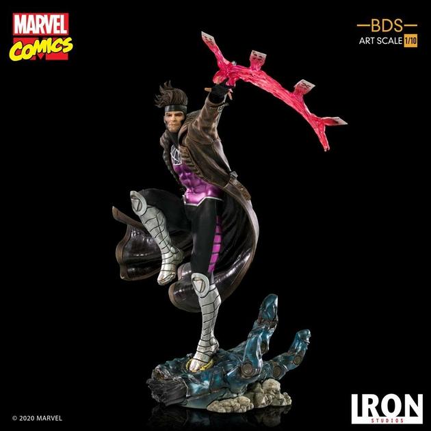 Statuette Marvel Comics BDS Art Scale Gambit 26cm 1001 figurines (11)