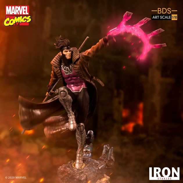 Statuette Marvel Comics BDS Art Scale Gambit 26cm 1001 figurines (12)
