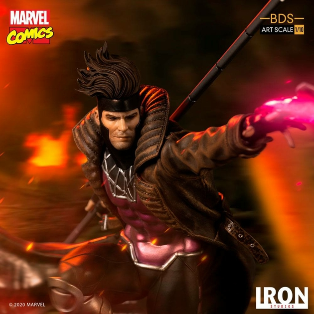 Statuette Marvel Comics BDS Art Scale Gambit 26cm 1001 figurines (13)