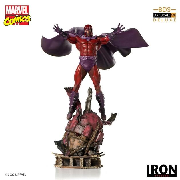 Statuette Marvel Comics BDS Art Scale Magneto 31cm 1001 Figurines (1)