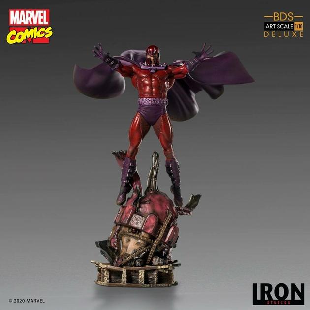 Statuette Marvel Comics BDS Art Scale Magneto 31cm 1001 Figurines (3)