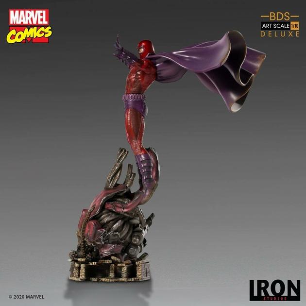 Statuette Marvel Comics BDS Art Scale Magneto 31cm 1001 Figurines (6)