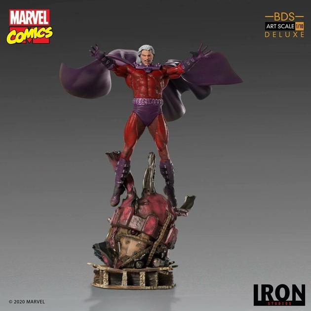 Statuette Marvel Comics BDS Art Scale Magneto 31cm 1001 Figurines (7)