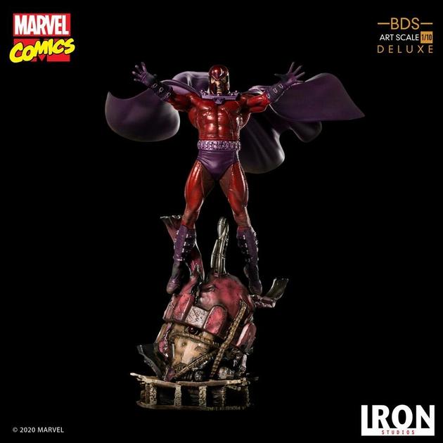 Statuette Marvel Comics BDS Art Scale Magneto 31cm 1001 Figurines (19)