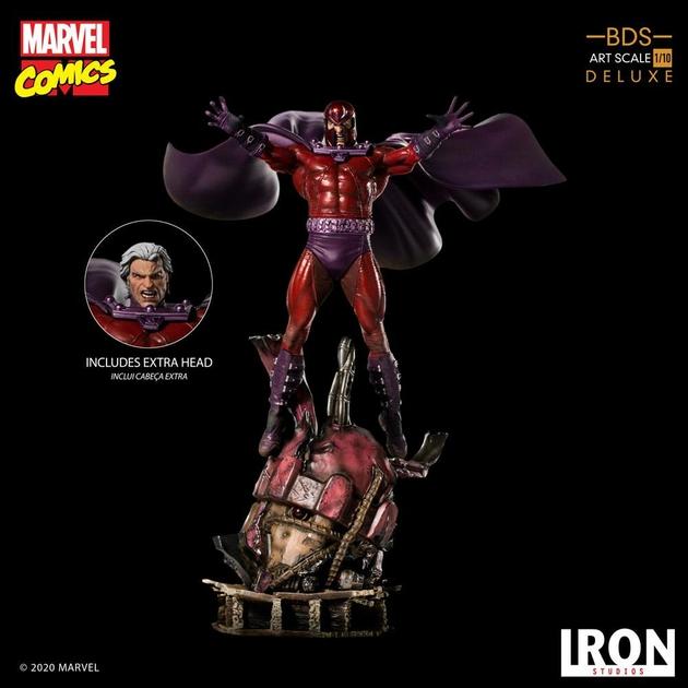 Statuette Marvel Comics BDS Art Scale Magneto 31cm 1001 Figurines (20)