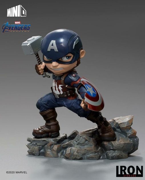 Figurine Avengers Endgame Mini Co. Captain America 15cm 1001 Figuirnes (5)
