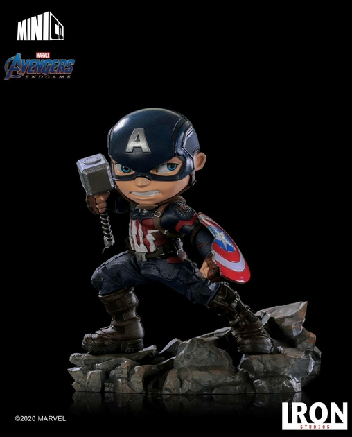 Figurine Avengers Endgame Mini Co. Captain America 15cm 1001 Figuirnes (11)