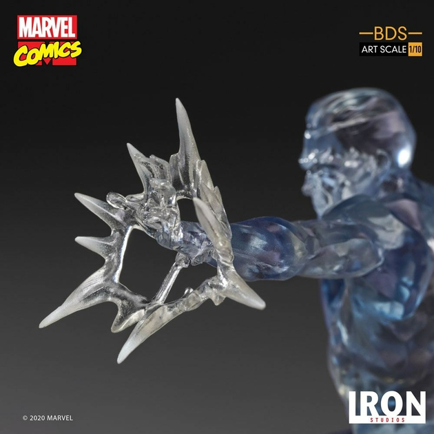 Statuette Marvel Comics BDS Art Scale Iceman 23cm 1001 Figurines (8)