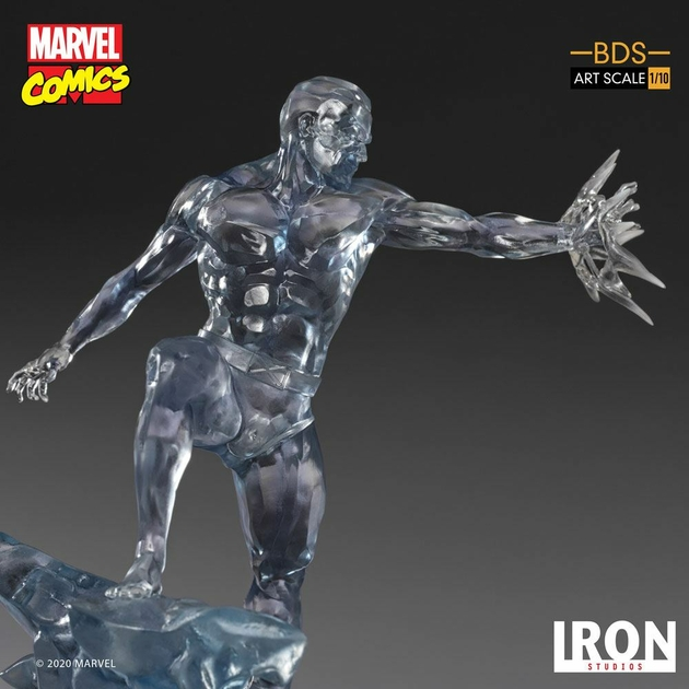 Statuette Marvel Comics BDS Art Scale Iceman 23cm 1001 Figurines (11)
