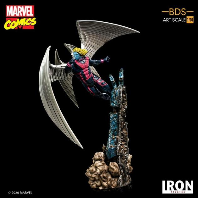 Statuette Marvel Comics BDS Art Scale Archangel 40cm 1001 Figurines (8)