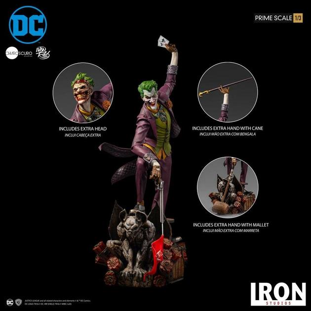 Statue DC Comics Prime Scale The Joker by Ivan Reis 85cm 1001 figurines (21)