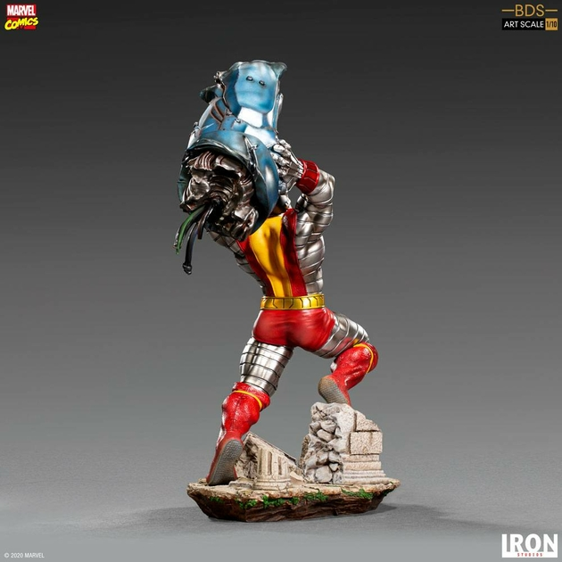 Statuette Marvel Comics BDS Art Scale Colossus 30cm 1001 Figurines (9)