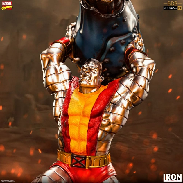 Statuette Marvel Comics BDS Art Scale Colossus 30cm 1001 Figurines (12)
