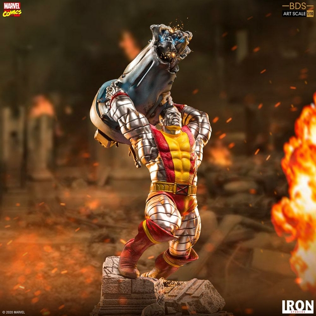 Statuette Marvel Comics BDS Art Scale Colossus 30cm 1001 Figurines (14)
