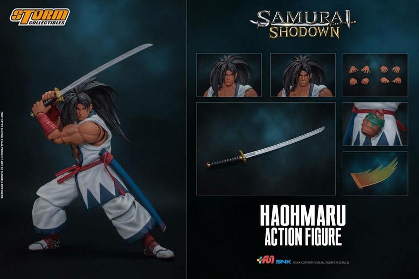 Figurine Samurai Shodown Haohmaru 18cm 1001 Figurines (2)