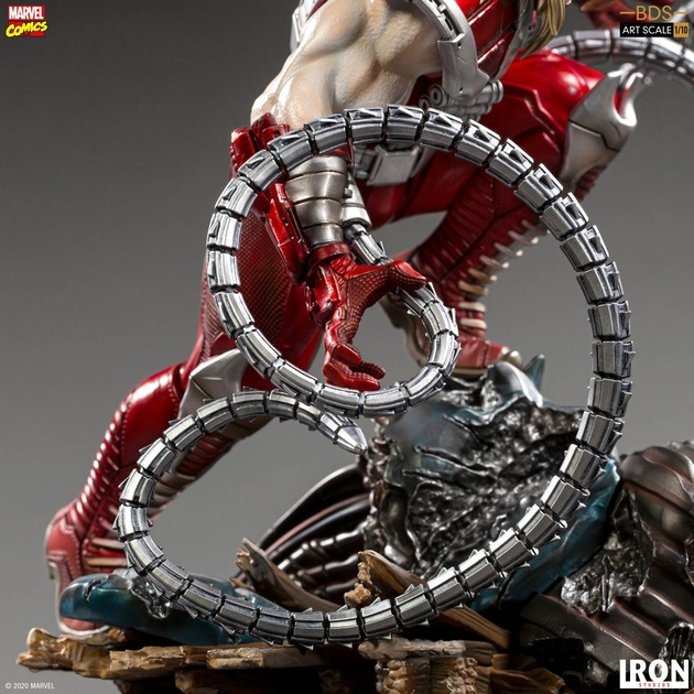 Statuette Marvel Comics BDS Art Scale Omega Red 21cm 1001 Figurines (7)