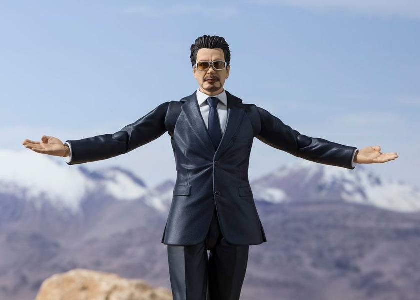Figurine Iron Man S.H. Figuarts Tony Stark Birth of Iron Man 15cm 1001 Figurines (3)