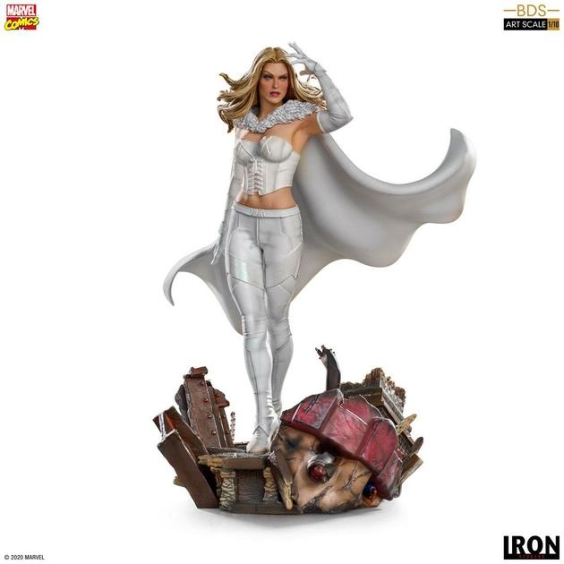 Statuette Marvel Comics BDS Art Scale Emma Frost 21cm 1001 Figurines (1)