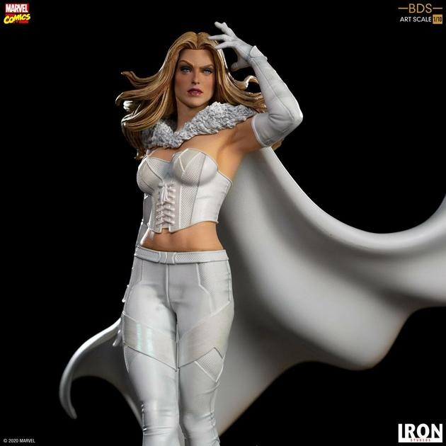 Statuette Marvel Comics BDS Art Scale Emma Frost 21cm 1001 Figurines (6)