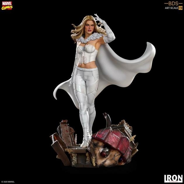 Statuette Marvel Comics BDS Art Scale Emma Frost 21cm 1001 Figurines (8)