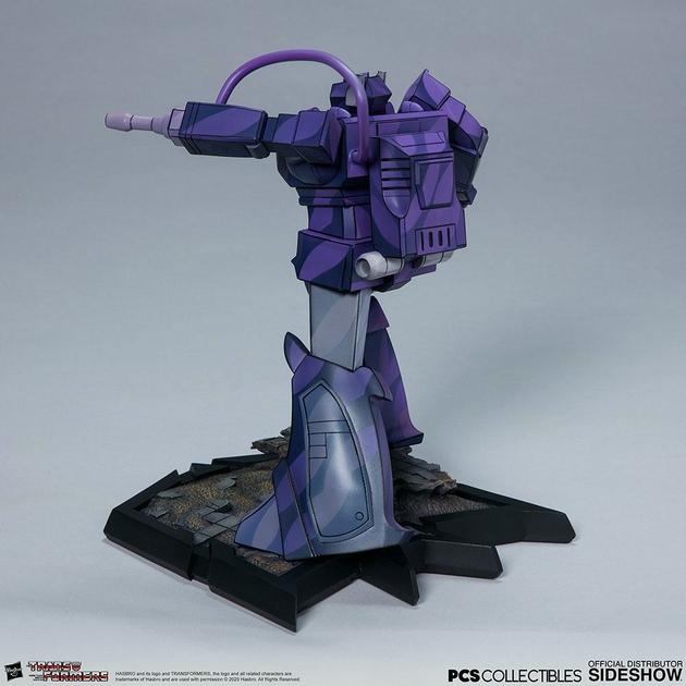 Statuette Transformers Classic Scale Shockwave 23cm 1001 Figurines (5)