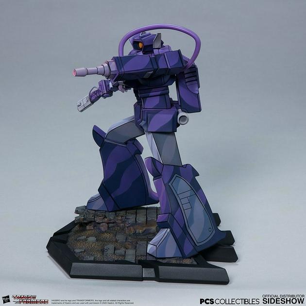 Statuette Transformers Classic Scale Shockwave 23cm 1001 Figurines (6)