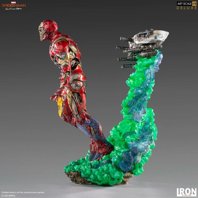 Statuette Spider-Man Far From Home BDS Art Scale Deluxe Iron Man Illusion 21cm 1001 Figurines (4)