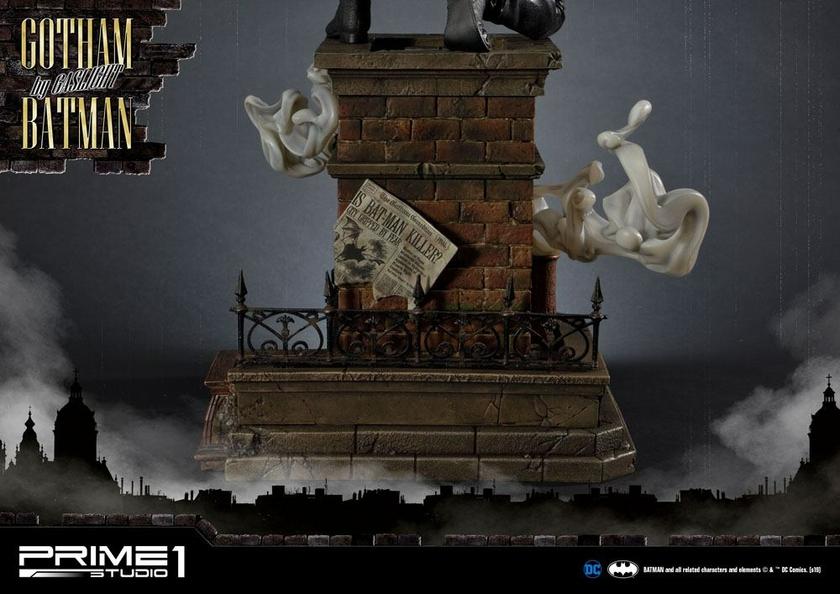 Statuette Batman Arkham Origins Gotham By Gaslight Batman Black Version 57cm 1001 Figurines (12)