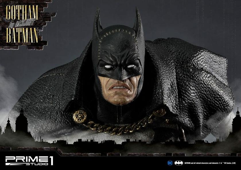 Statuette Batman Arkham Origins Gotham By Gaslight Batman Black Version 57cm 1001 Figurines (13)
