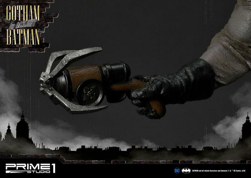 Statuette Batman Arkham Origins Gotham By Gaslight Batman Black Version 57cm 1001 Figurines (22)