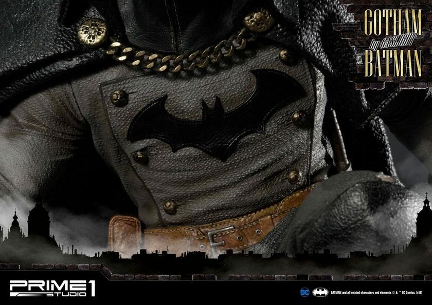 Statuette Batman Arkham Origins Gotham By Gaslight Batman Black Version 57cm 1001 Figurines (21)