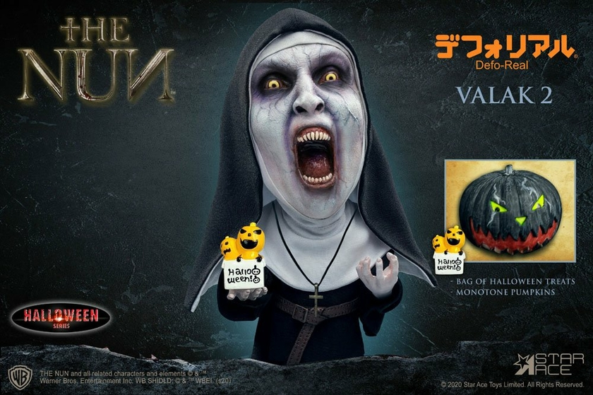 Figurine La Nonne Defo-Real Series Valak 2 Halloween Version Open Mouth 15cm 1001 Figurines (3)